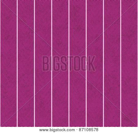 Pink Zigzag Textured Fabric Pattern Background