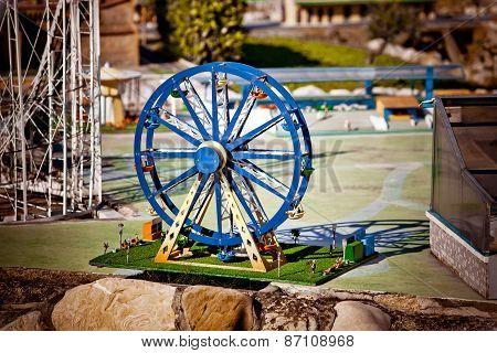 Miniature Modelf Of Ferris Wheel