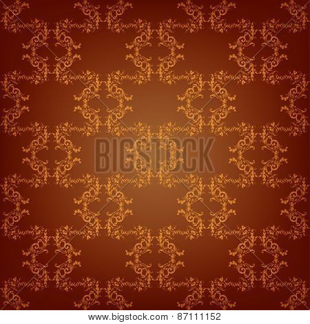 Vector royal seamless background