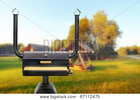Multifunctional Cooking Oven, Summer.