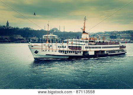 Istanbul Journey. Dramatic Scene.