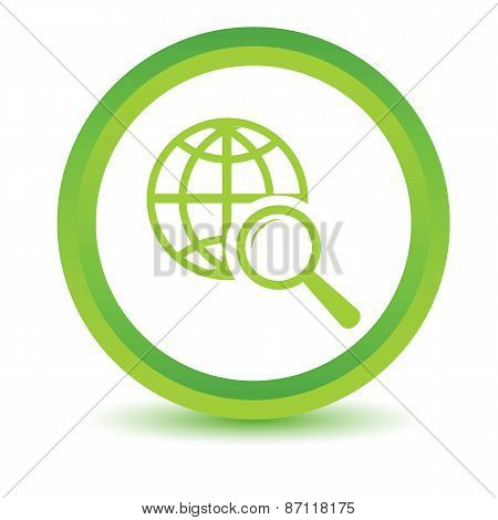 Green World scan icon