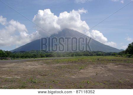 Volcano in Nicaragua