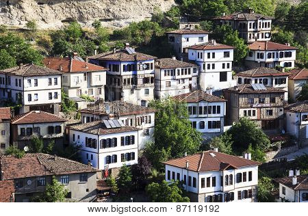 Old Ottoman Houses In Safranbolu, Karabuk, Turkey