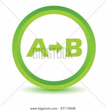Green Purpose icon