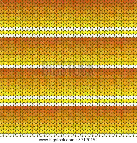 Orange Seamless Horizontal Texture