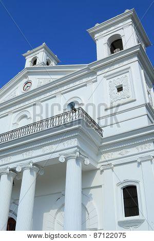 Church exterior, Suchitoto, El Salvador