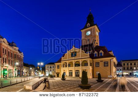 City Hall In Brasov, Transylvania