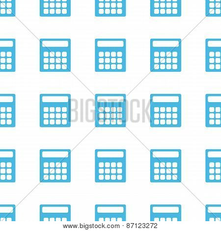 Unique Calculator seamless pattern