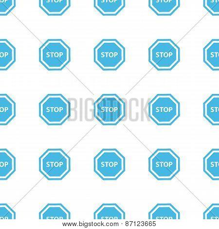 Unique Stop seamless pattern