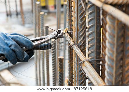 Preparing Reinforcement Cage
