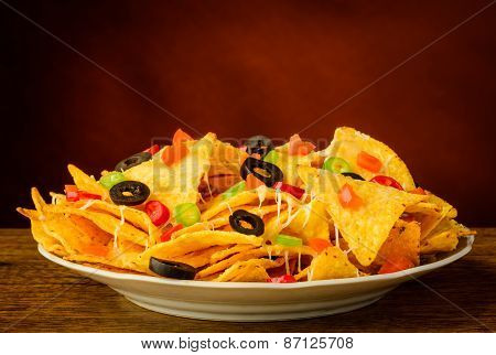 Nachos On A Plate