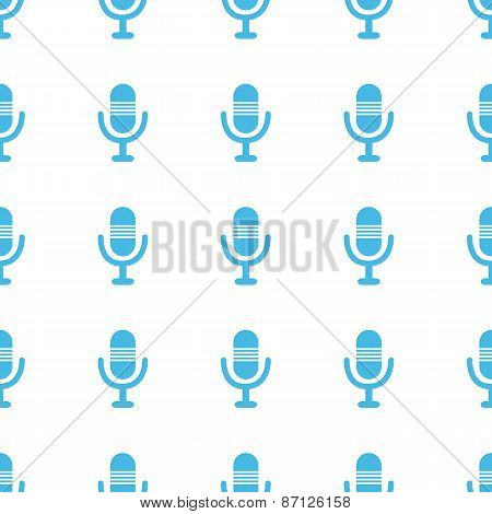 Unique Microphone seamless pattern