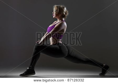 Lunge Exercises For Hips, Buttocks And Spine