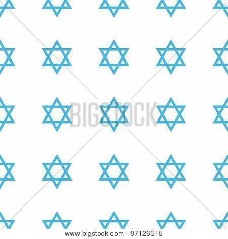 Unique Judaism seamless pattern