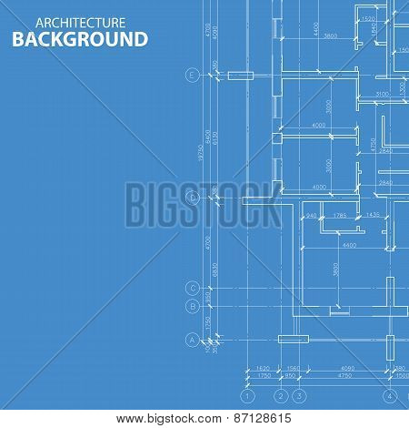 Blueprint architecture plan