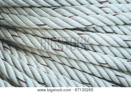 Roll Of White Rope