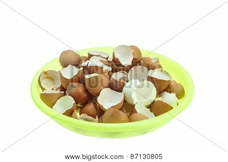 Stack Of Eggs Shell