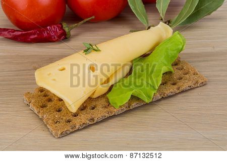 Crispbread With Cheese