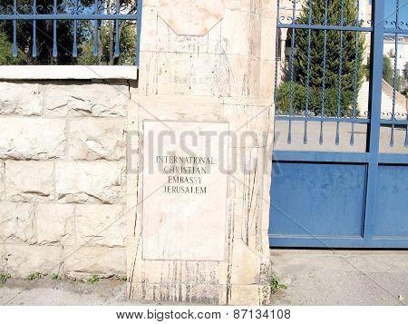 Jerusalem The International Christian Embassy 2010