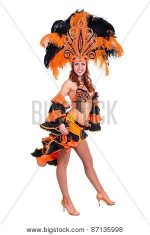 carnival dancer woman dancing