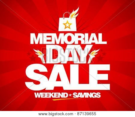 Memorial day sale.
