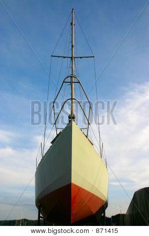 sailboat in dock