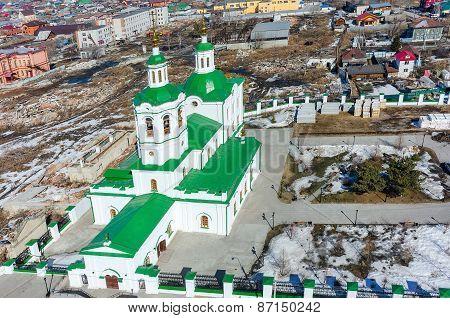 Voznesensko-Georgiyevsky church in Tyumen
