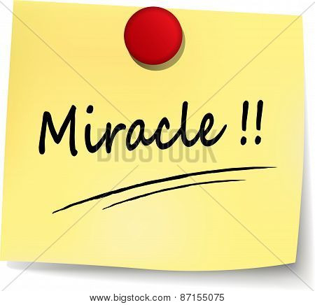 Miracle Note