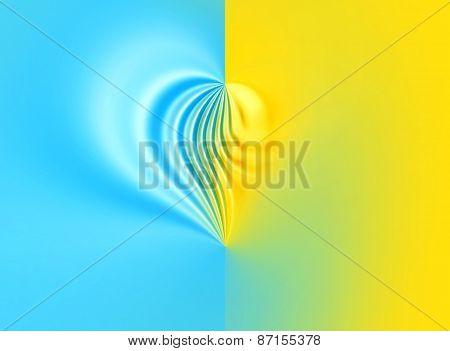 Blue And Yellow Background Fo Design