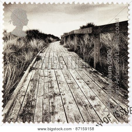 Cliff Boardwalk Stamp