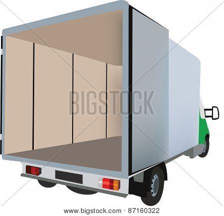 Truck dropside