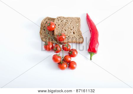 Healthy Food Isolated