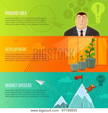 Startup Banner Set