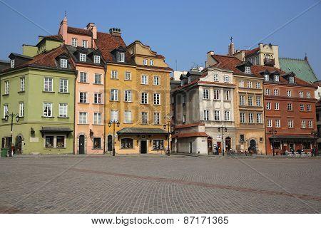 Castle Square. Warsaw