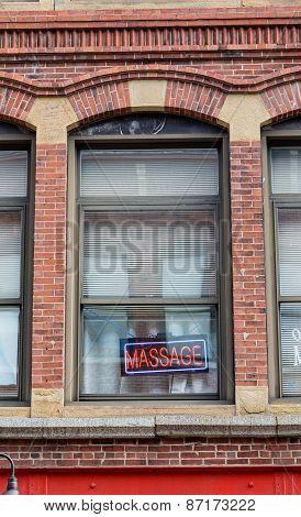 Massage Parlor Vertical