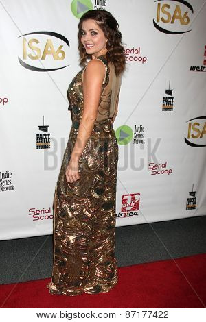 LOS ANGELES - APR 1:  Jen Lilley at the 6th Annual Indie Series Awards at the El Portal Theater on April 1, 2015 in North Hollywood, CA