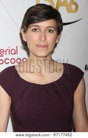 LOS ANGELES - APR 1:  Joanna Gaskell at the 6th Annual Indie Series Awards at the El Portal Theater on April 1, 2015 in North Hollywood, CA