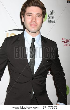 LOS ANGELES - APR 1:  Kristos Andrews at the 6th Annual Indie Series Awards at the El Portal Theater on April 1, 2015 in North Hollywood, CA
