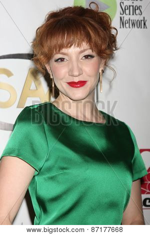 LOS ANGELES - APR 1:  Megan Duffy at the 6th Annual Indie Series Awards at the El Portal Theater on April 1, 2015 in North Hollywood, CA