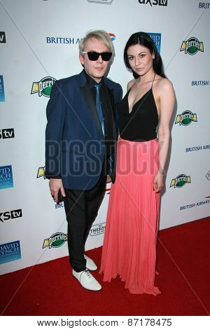LOS ANGELES - APR 1:  Nick Rhodes at the The Music Of David Lynch at the Ace Hotel on April 1, 2015 in Los Angeles, CA