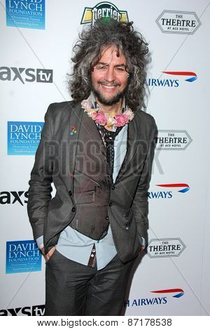 LOS ANGELES - APR 1:  Wayne Coyne at the The Music Of David Lynch at the Ace Hotel on April 1, 2015 in Los Angeles, CA