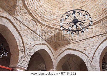 Interior Of Yivli Minare Mosque (