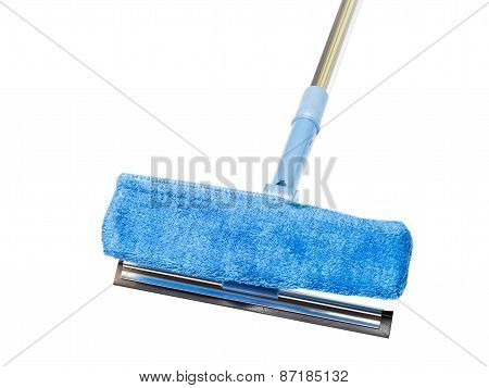 Blue Sponge Mop With