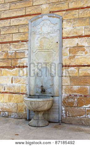 The Source Of Holy Water On The Site Of Orthodox Patriarchal Church Of Saint George, Istanbul, Turke