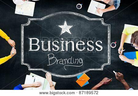 Branding Business Trademark Marketing Commercial Concept