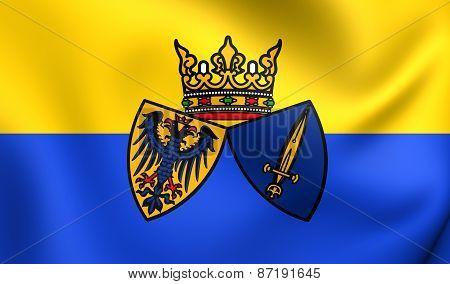 Flag Of Essen, Germany.