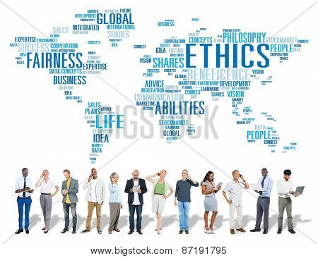 Ethics Ideals Principles Morals Standards Concept
