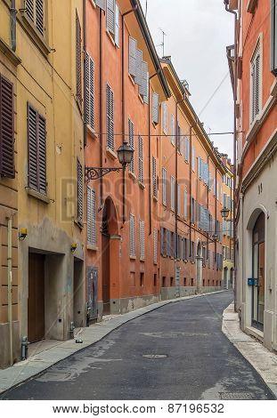 Street In Modena, Italy