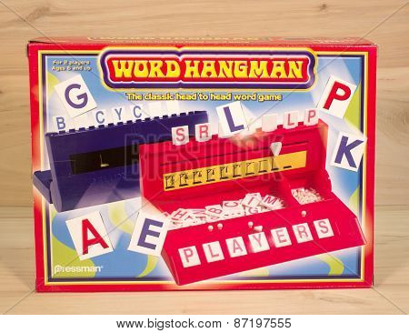 Hangman Game Box
